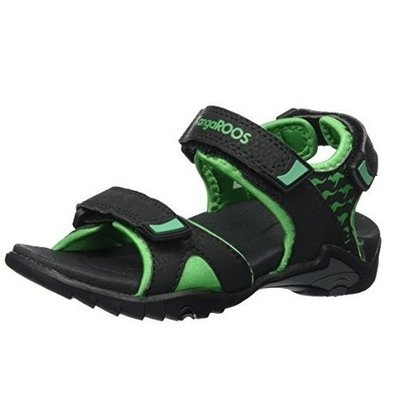 Сандали  Inclas black / simply green