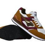 Racer 2 saddle brown / velvet red